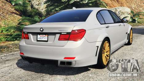 BMW 760Li (F02) Lumma CLR 750 [add-on] para GTA 5