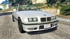 BMW 328i (E36) M-Sport [replace] para GTA 5