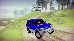 Mitsubishi Pajero 3 Beta para GTA San Andreas