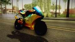 Rainbow Motorcycle para GTA San Andreas