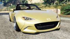 Mazda MX-5 2016 Rocket Bunny v0.1 [replace] para GTA 5
