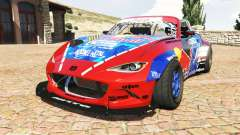 Mazda MX-5 (ND) RADBUL Mad Mike v1.1 [replace] para GTA 5
