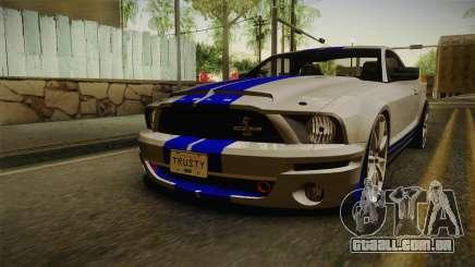 Ford Mustang Shelby GT500KR Super Snake para GTA San Andreas
