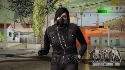 GTA 5 Heists DLC Female Skin 1 para GTA San Andreas