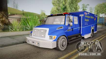 International Terrastar Ambulance 2014 para GTA San Andreas