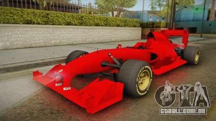Lotus F1 T125 para GTA San Andreas