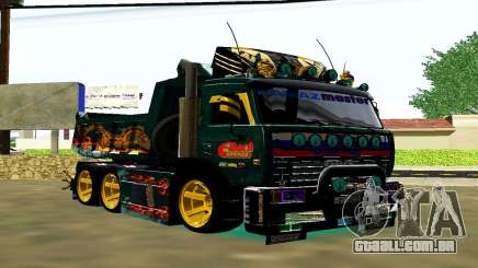 KaMAZ 65115 TURBO SAMOSVAL para GTA San Andreas