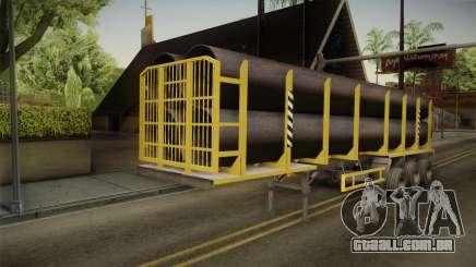 MAZ 99864 Trailer v3 para GTA San Andreas