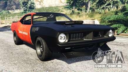 Plymouth Cuda BeckKustoms para GTA 5