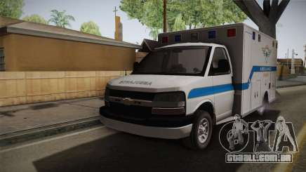 Chevrolet Express 2011 Ambulance para GTA San Andreas
