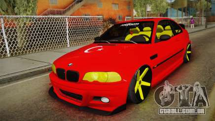BMW M3 E46 Turkish Stance para GTA San Andreas