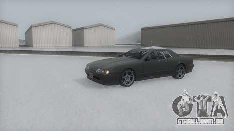 Elegy Winter IVF para GTA San Andreas vista direita