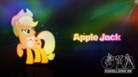 As telas de carregamento de My Little Pony para GTA San Andreas