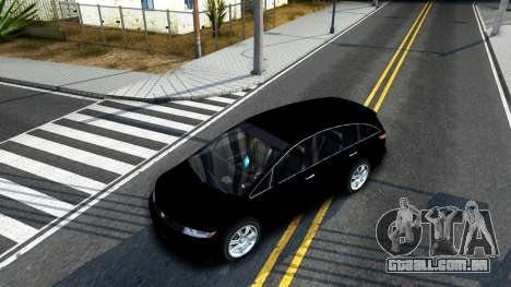 2010 Dinka Perennial Unmarked para GTA San Andreas vista interior