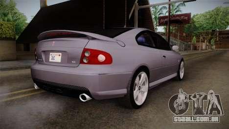 Pontiac GTO Hot Wheels NASCAR PJ para GTA San Andreas