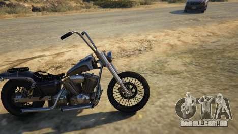 GTA 5 Daemon SOA Harley-Davidson vista lateral esquerda