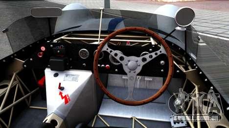 Maserati Tipo 61 para GTA San Andreas vista interior