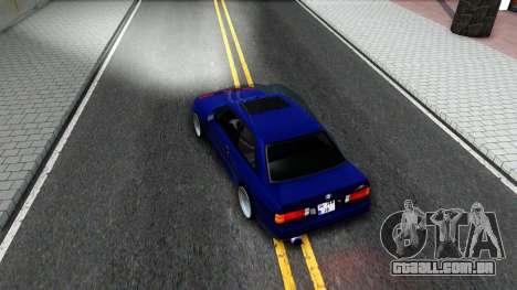 BMW E30 para GTA San Andreas vista interior