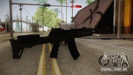 Call of Duty Ghosts - AK-12 with Scope para GTA San Andreas terceira tela