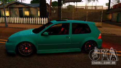 VW Golf 4 para GTA San Andreas esquerda vista