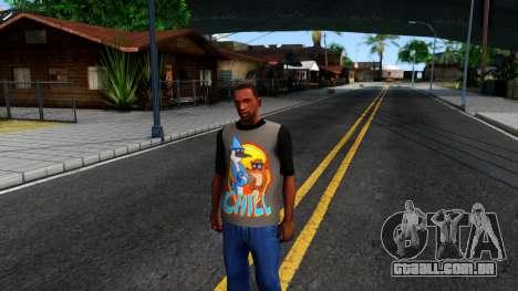 Regular Show T-shirt para GTA San Andreas