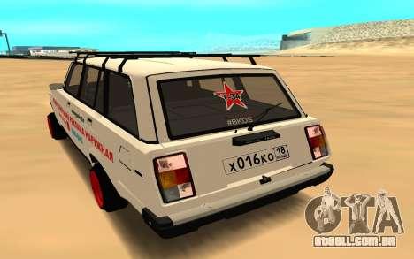 VAZ 2104 BK para GTA San Andreas esquerda vista
