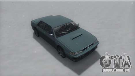 Sultan Winter IVF para GTA San Andreas
