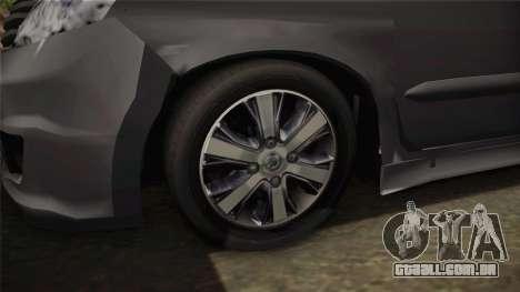 Nissan Grand Livina Highway Star para GTA San Andreas