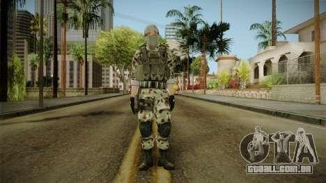 Resident Evil ORC Spec Ops v1 para GTA San Andreas segunda tela