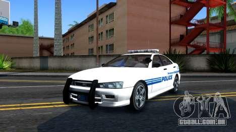 1998 Dinka Chavos Montgomery Police Department para GTA San Andreas