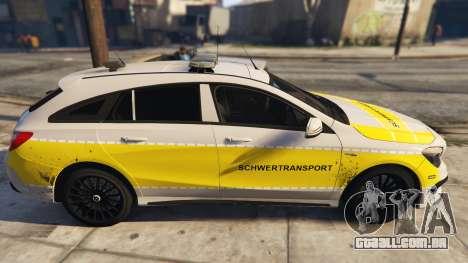 Deutscher Schwertransport Wagen para GTA 5
