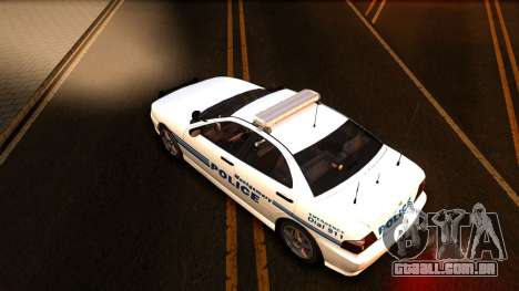 1998 Dinka Chavos Montgomery Police Department para GTA San Andreas vista interior