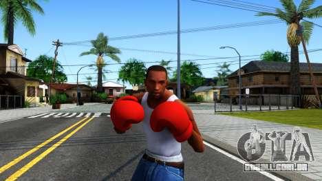 Red Boxing Gloves Team Fortress 2 para GTA San Andreas terceira tela