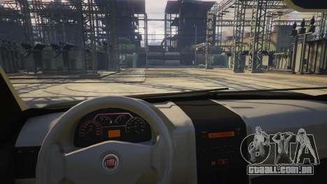 GTA 5 Fiat Palio Way Brasil 2015 vista lateral direita