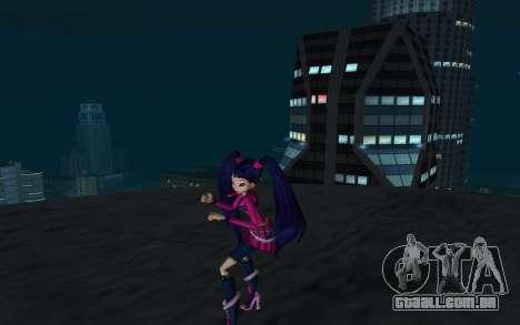 Musa Rock Outfit from Winx Club Rockstars para GTA San Andreas segunda tela