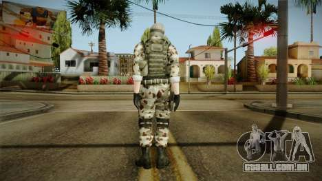 Resident Evil ORC Spec Ops v1 para GTA San Andreas terceira tela