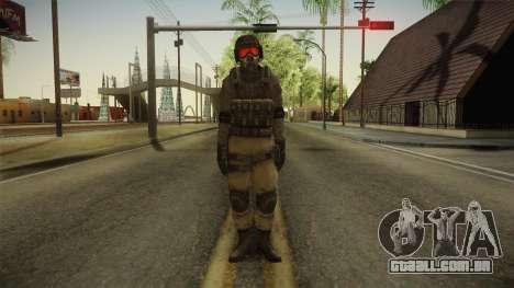 Resident Evil ORC - USS v4 para GTA San Andreas segunda tela