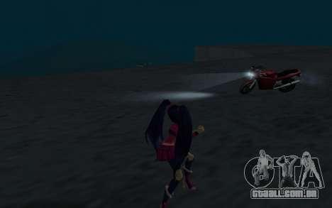 Musa Rock Outfit from Winx Club Rockstars para GTA San Andreas por diante tela
