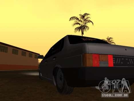 VAZ 21099 BPAN para GTA San Andreas vista direita