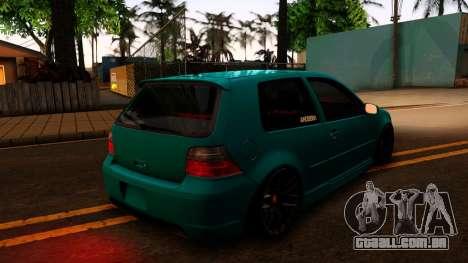 VW Golf 4 para GTA San Andreas