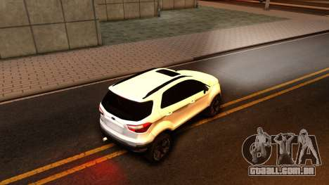 Ford EcoSport 2016 para GTA San Andreas vista direita