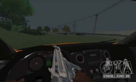 Ural Caminhão De Combustível Próximo para GTA San Andreas vista superior