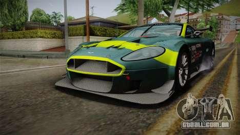 Aston Martin Racing DBRS9 GT3 2006 v1.0.6 YCH v2 para o motor de GTA San Andreas