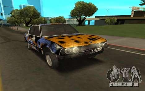 BMW E28 para GTA San Andreas