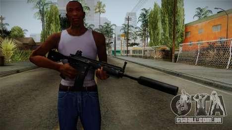 HK416 v3 para GTA San Andreas terceira tela