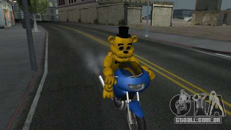 Five Nights At Freddys para GTA San Andreas segunda tela