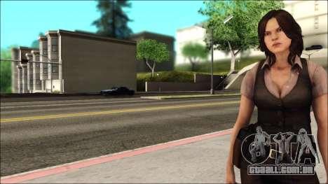 Resident Evil 6 - Helena Usa Outfit para GTA San Andreas segunda tela