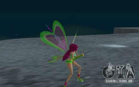 Fairy Roxy from Winx Club Rockstars para GTA San Andreas por diante tela