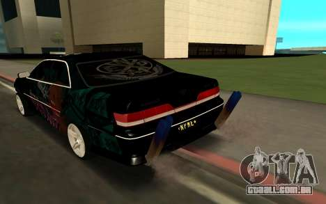 MARK 100 para GTA San Andreas esquerda vista