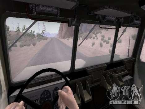 9К57 Furacão para GTA San Andreas vista superior